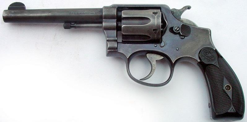 Full Aventura :. - Armas - Historia del revólver Smith & Wesson .38/200